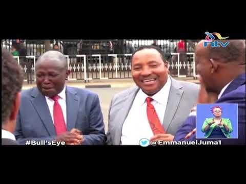 'Wananilemea': Waititu 'reports' Matiang'i To DP Ruto    Bull's Eye