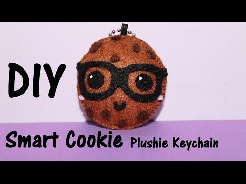 DIY Smart Cookie | Plushie Keychain