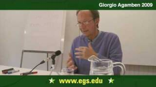 Giorgio Agamben. The Process of the Subject in Michel Foucault. 2009 2/7