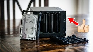 If you make You Tube Videos you need this!!: Synology DS 916+