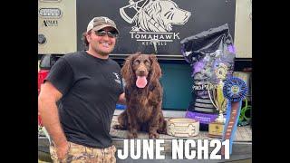 2021 Boykin Spaniel Society's National Retriever Field Trial, Novice Champion  June Holland NCH21