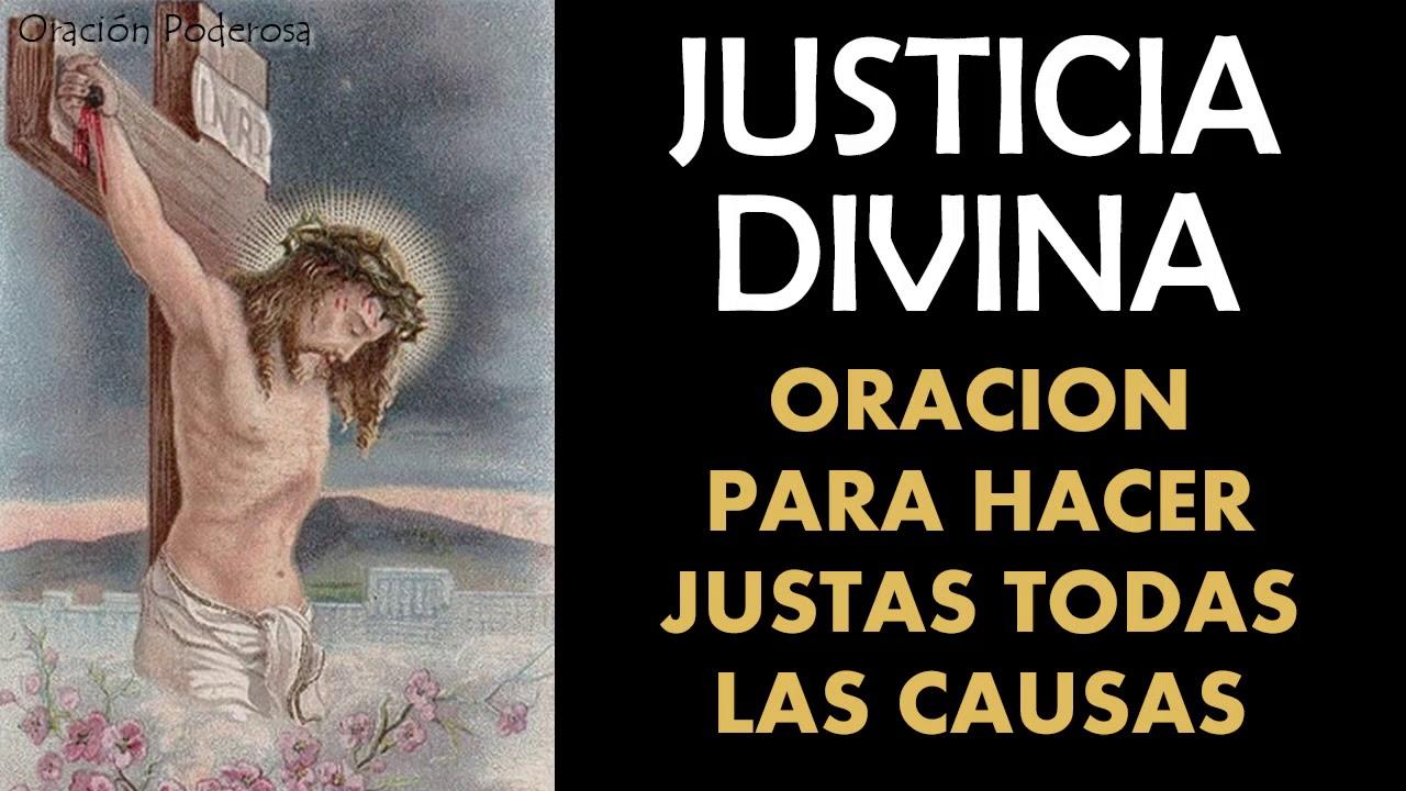 Justicia Divina Oración Para Hacer Justas Todas Las Causas