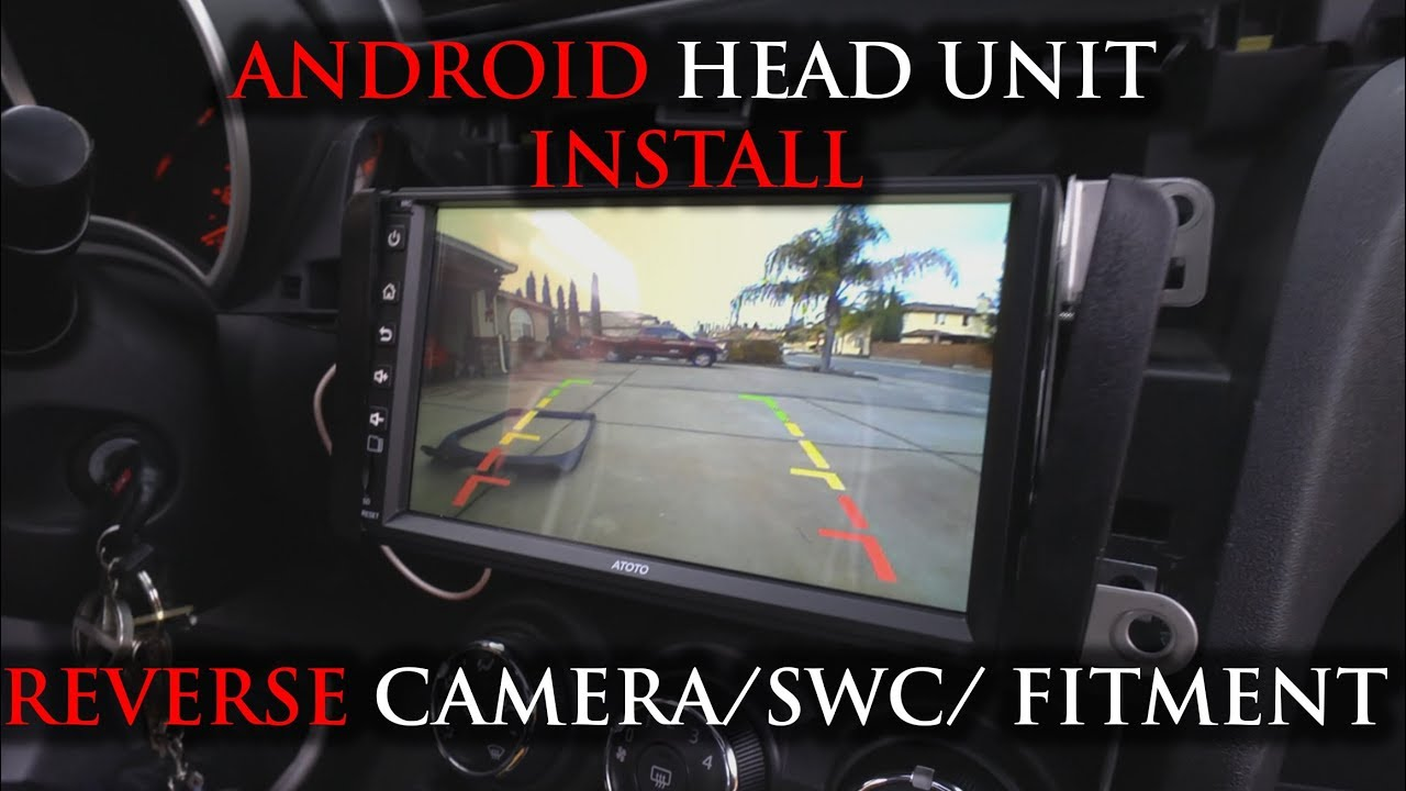 small resolution of noob friendly android headunit installing a backup camera fitment atoto p2 p2 4k
