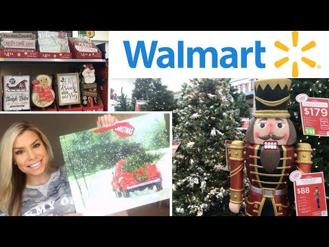 WALMART CHRISTMAS 2018 | SHOP WITH ME + HAUL | CHIC ON THE CHEAP