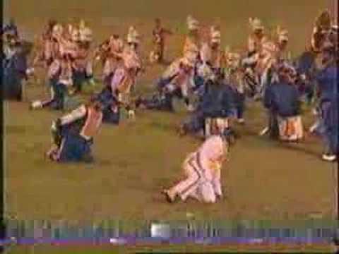 1999 Miami Northwestern Marching Bulls dance routine