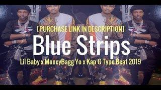 "Lil Baby x Moneybagg Yo x Kap G Type Beat 2019 - ""Blue Strips"" (prod. JayBeatzMuzik)"