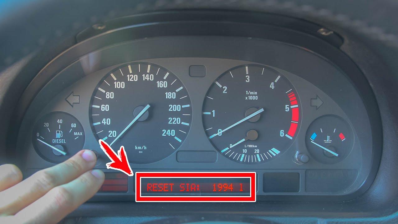 Сброс Межсервисного Интервала BMW X5 E53. Как Сбросить Service.