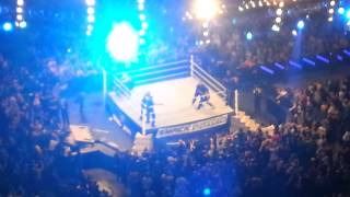 DX save The Undertaker after an attack by The Shield   Smackdown - 26/4/2013