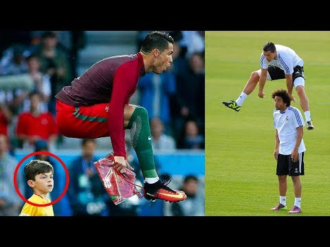 How on earth does Cristiano Ronaldo jump this high? - Oh My Goal