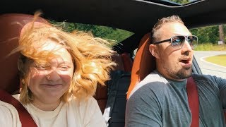 Daughters Reaction To 700 HP Turbo Porsche Test Drive!!!