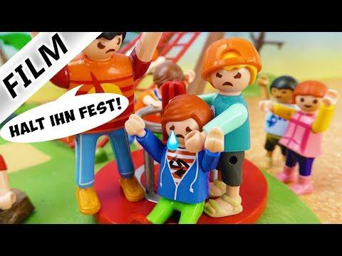 Playmobil Film Deutsch MIAS BRUDER HASST JULIAN! BESTER FREUND VOM GROßEN JULIAN! Familie Vogel