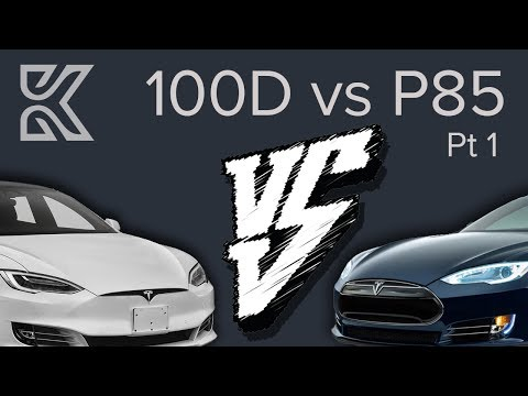 Model S 100D how does it compare to my P85? [Part 1]
