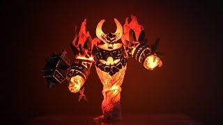 Create Ragnaros with the 3D Pen