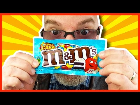 Birthday Cake M&M's Chocolate Candies Review