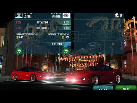 Racing Rivals - Fresh Review of 2002 Pontiac Firebird Trans AM 1666 running 8.20