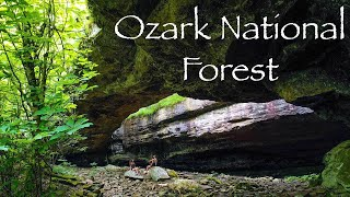 Camping in the Oząrks | Hiking Alum Cove Trail