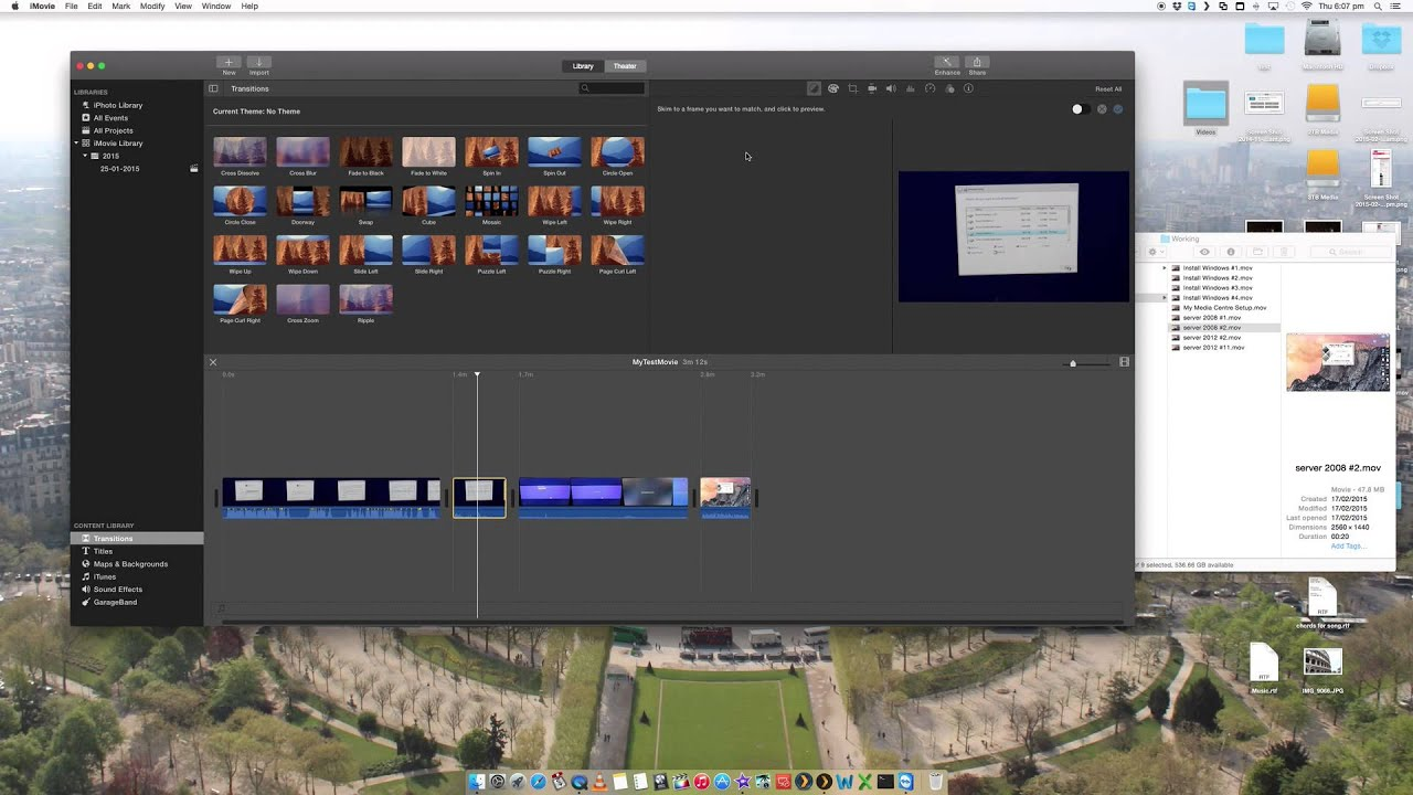 How to edit videos on mac os x using imovie basic quick and how to edit videos on mac os x using imovie basic quick and easy guide yosemite ccuart Gallery