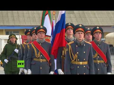 Tropas rusas regresan a casa tras combatir al Estado Islámico en Siria