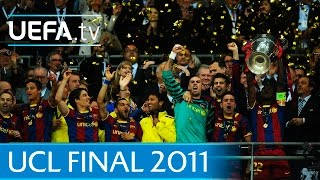 Guardiola's Barcelona v Manchester United: 2011 UEFA Champions League final highlights