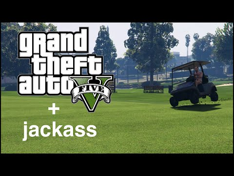 Watch This Jackass-Style GTA 5 Video