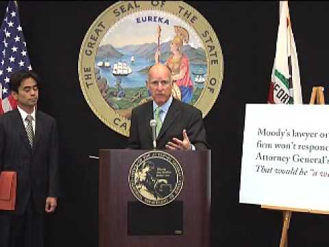 Brown Accuses Moody's of Refusing To Explain Its R...