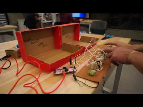 Makey Makey Sushi Beats & The Music Box MkII