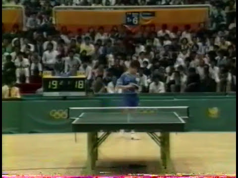 Summer Olympics Seoul 1988 - Table Tennis