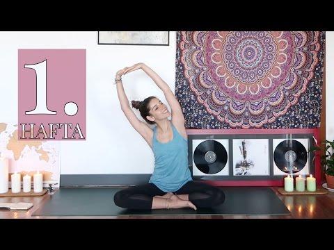 1 ♥ Yavaşla, Nefes al ve Başla | 4 Haftalık Yoga Dersi