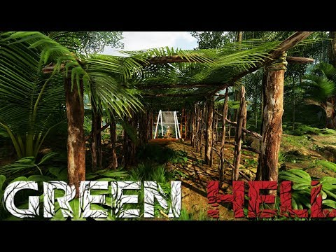 Green Hell  Building A Giant Shelter  Predator Attacks!  Green Hell Gameplay Highlights