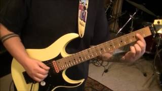 How to play Down On The Border by Little River Band on guitar by Mike Gross