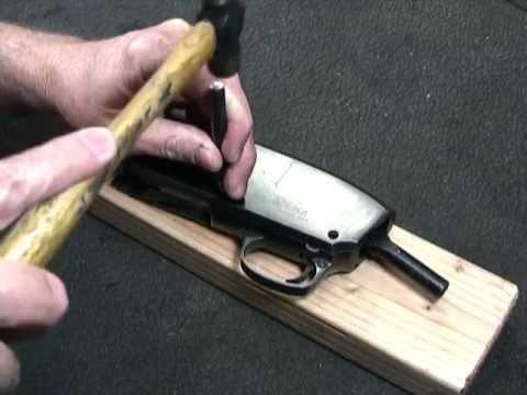 Stevens Model 520 & 620 Shotgun Disassembly - John Browning Design
