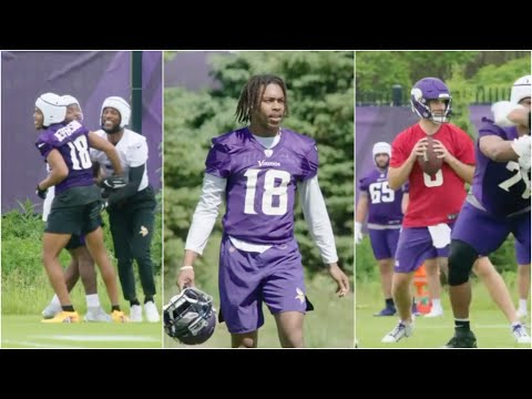 Justin Jefferson & Minnesota Vikings ARE COMPETING OTA'S