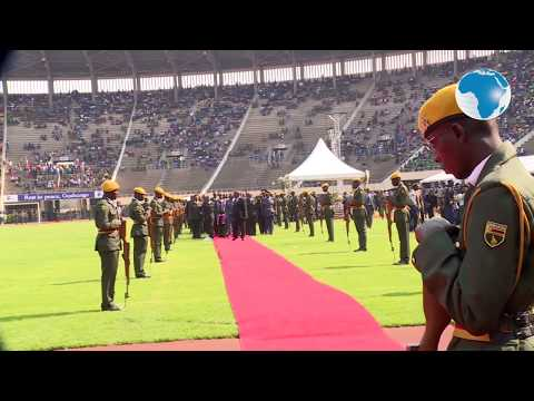 Mugabe's state funeral held in half-empty stadium