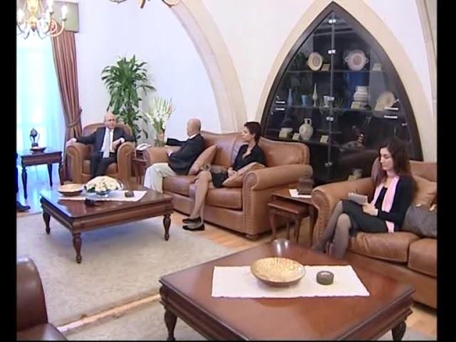 3. CUMHURBAŞKANI MEHMET ALİ TALAT GAZETECİLERİ KABUL ETTİ - 2009