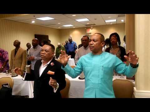 Prince Ejindu - Prayer Banquet at Holiday Inn, College park, Maryland on 5/14/2016