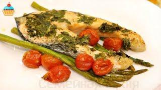Красная рыба со Спаржей - ну, оОчень вкусная!