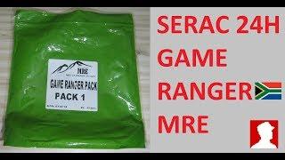 South African Ration Review:  SERAC 24H Game Ranger Pack Menu 1
