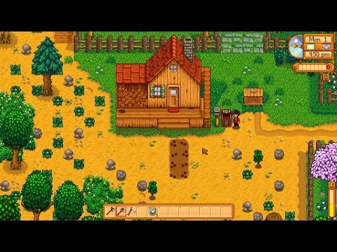 Stardew Valley - Perfect First Day?