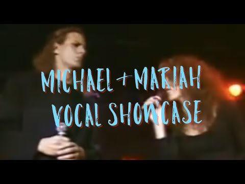 Michael bolton we re not making love anymore Mariah Carey And Michael Bolton We Re Not Making Love Anymore Vocal Showcase Best Moments Youtube