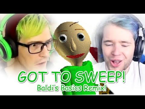 """GOT TO SWEEP!"" (DanTDM, BijuuMike, Baldi's Basics Remix)   Song by Endigo"