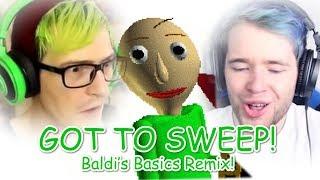 """GOT TO SWEEP!"" (DanTDM, BijuuMike, Baldi's Basics Remix) | Song by Endigo"