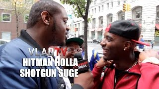 Hitman Holla and Shotgun Suge Discuss Their Potential Battle