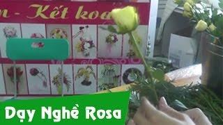 Hướng dẫn bó hoa ngày nhà giáo Việt Nam 20/11 (1 hoa)