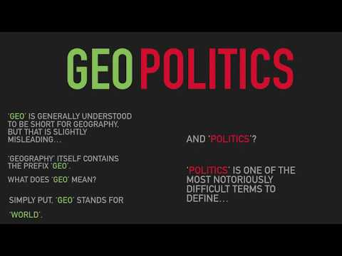 Geopolitics: A Brief Introduction