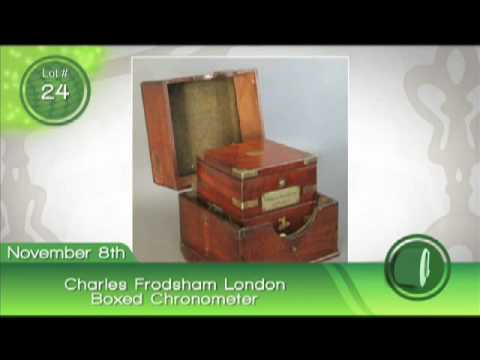Fontaine's Auction: Charles Frodsham chronometer