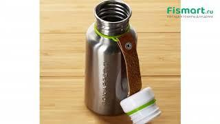 Покупки для кухни   Чайники и термосы: обзор Фляга Water Bottle 500 мл сталь-лайм BAM-WB-S001, цена