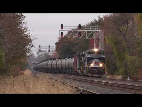 Trains on the Norfolk Southern Harrisburg Line Fall 2015