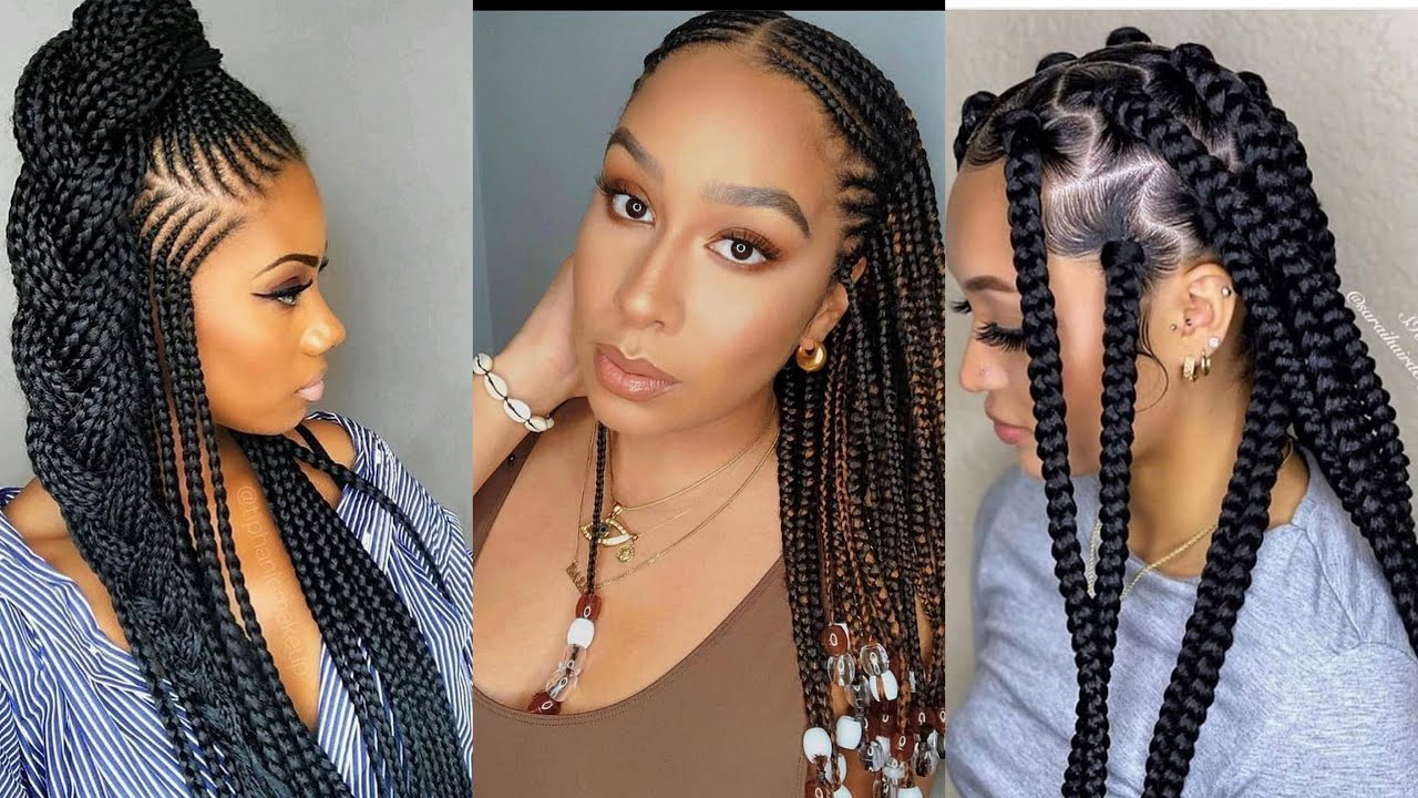😍❤️❤️CUTIEST!!! Most Beautiful #Ghana Braids Hairstyles 2020: Best Classical #2020 Braids Hairstyles