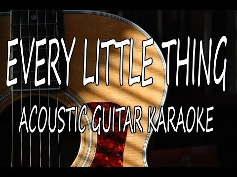 Carly Pearce - Every Little Thing (Acoustic Karaoke Lyrics on Screen)