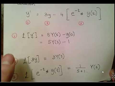 Laplace Transforms: Solving Integral Equations